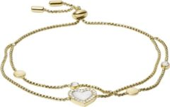 Gouden Fossil Vintage Glitz Dames Armband JF03216710