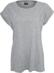 Urban Classics Ladies Extended Shoulder Tee Maglia donna grigio