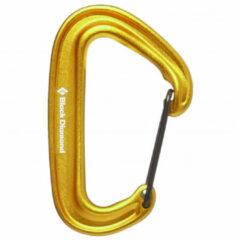 Black Diamond - Miniwire Carabiner - Snapkarabiner oranje/bruin