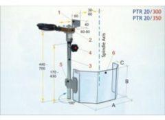 Huvema Beschermkappen voor boormachines BVPTR 20/350