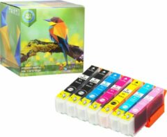 Cyane Ink Hero - 7 Pack - Inktcartridge / Alternatief voor de Epson Expression Photo 24XL T2431 T2432 T2433 T2434 T2435 T2436 XP-55 XP-750 XP-760 XP-850 XP-860 XP-950 XP-960 XP-55 XP-750 XP-760 XP-850 XP-860 XP-950 XP-960 Inks