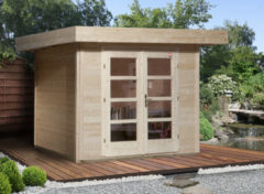 Weka tuinhuis 126 GR.3 met vloer 8,9m²