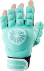 Groene The Indian Maharadja Glove shell/foam halffinger glove mint Links PRE-ORDER