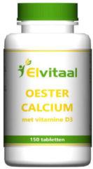 Oestercalcium + vitamine D3 van Elvitaal : 150 tabletten