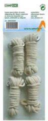 Witte Umefa Campking zak 4 scheerlijn katoen 3 mm 3 mtr