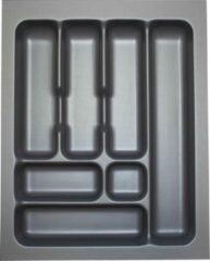 Culinorm Storex Bestekbak - 39 cm breed en 49 cm diep - Grijs