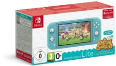 Turquoise Nintendo Switch Lite Console - Turkoois + Animal Crossing: New Horizons + 3 maanden gratis Nintendo Switch online