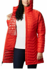 Oranje Sweater Columbia Powder Lite Mid Jacket