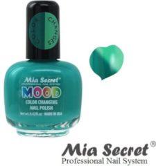Cyane Mia Secret Mood Nagellak Turquoise Aqua