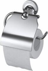 Haceka closetrolhouder Aspen, met, chroom, (lxhxd) 160x165x45mm, verchroomd