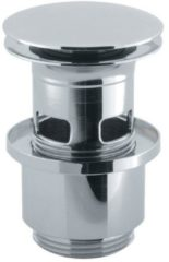 Crosswater MPRO wastafel klikwaste met overloop geborsteld chroom BSW0103C