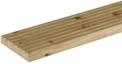 Trendhout Vlonderplank/dekdeel Douglas   25 x 140 mm   Geïmpregneerd   300 cm