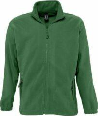 Fleece vest Sol's North - groen - 2XL
