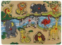 Playwood / Roel Houten noppen puzzel wilde dieren