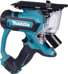 Blauwe Makita SD100DZJ 10,8 V Gipszaag