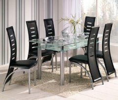 Möbel direkt online Moebel direkt online Tischgruppe 5tlg.: 1 Esstisch 160x80 cm, 4 Stühle