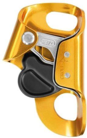 Afbeelding van Petzl - Croll - Stijgklem oranje/zwart