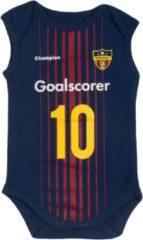 Blauwe Fun2wear - Messi - goalscorer - romper - maat 56