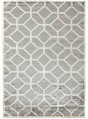 MOMO Rugs - Cosmou Nouveau Vloerkleed - 170x240 cm - Rechthoekig - Laagpolig Tapijt - Retro, Scandinavisch - Beige, Grijs