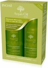 Inoar Argan 2x250ml Shampoo&Conditioner KIT