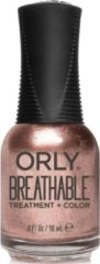 Bruine Orly Breathable Treatment + Color Nagellak 18 ml
