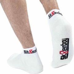 Witte Sk8erboy quarter socks white 39-42