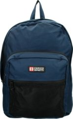 "Enrico Benetti Amsterdam Laptop Rugzak 15"" navy backpack"