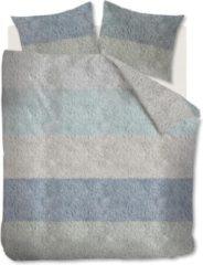Blauwe Ariadne At Home Softie Dekbedovertrek - 2-persoons (200x200/220 Cm + 2 Slopen) - Katoen - Blue Green