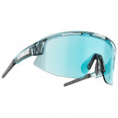 Blauwe BLIZ - Matrix - Transparent Blue // Smoke with Ice Blue multi lens