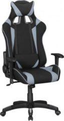 AMSTYLE ® Bürostuhl SCORE Stoffbezug Schwarz / Grau Schreibtischstuhl Chefsessel Gaming Chair Drehstuhl Sport Racing Optik