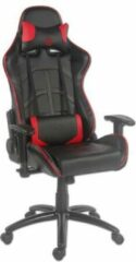LC-POWER Gaming stoel LC-Power LC-GC-1 zwart/rood