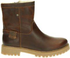 Nelson Kids jongens boot - Cognac - Maat 35