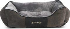 Grijze Scruffs & Tramps Huisdierenbed Chester maat XL 90x70 cm grijs 1169