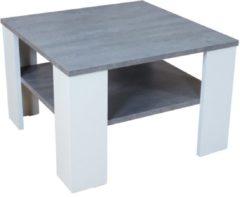 Couchtisch 'Dallas' Möbel-Direkt-Online weiss-beton silber