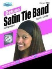 Zwarte Dream World Dream Satin Tie Band