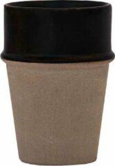 Naturelkleurige Household Hardware Mokken - beldi - zwart/clay - set van twee