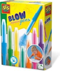 Ses Creative Airbrush-stiften Blow Junior 20 Cm 7-delig