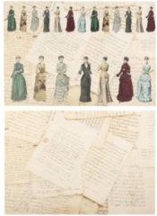 """LaBlanche Home-Dekoration Decoupageset """"Couture"""", 12tlg."""