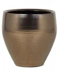 Ter Steege Amora bloempot 32x32x32 cm goud