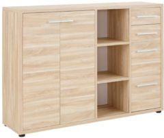 Bermeo Dressoir Banco 156 cm breed - Eiken