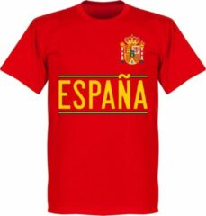 Merkloos / Sans marque Spanje Team T-Shirt 2020-2021 - Rood - XL