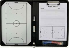 Witte Coachmap zaalvoetbal - Futsal - Tactiekmap - Ciclón Sports - Inclusief accessoires
