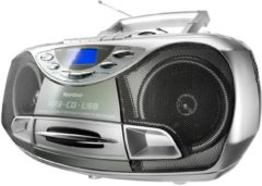 Karcher RR510N tragbares Stereo-CD-Radio - silber