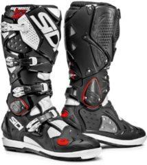 Zwarte Sidi Crossfire 2 SRS Black White Motorcycle Boots 41