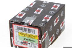 Roestvrijstalen Kelfort Vlonderschroef platverzonken kop RVS A2 T25 5.0 x 60/36mm (Prijs per 100 stuks)