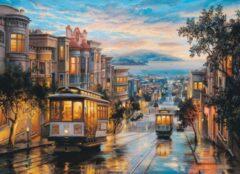 Eurogra Puzzel 1000 stukjes - San Francisco Cable Car Heaven