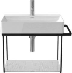 Duravit Durasquare Metalen onderstel wandmontage 66,5x45,1 cm Mat Zwart