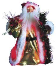 Weihnachtsmann 33 cm Star Trading Mehrfarbig