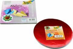 Folia Aluminium Folie Vouwblaadjes Set A040120 - 100 vouwblaadjes inclusief schaar en lijm