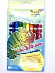 Rode Folia - Stiften - Duostiften - Kleuren voor kinderen - Kleuren voor volwassen